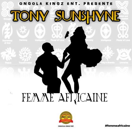 Tony Sunboy Femme Africaine Cover
