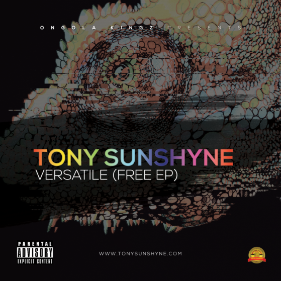Tony Sunboy Front cover EP Versatile